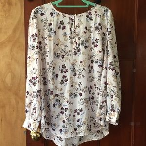 Loft plus new with tags printed blouse